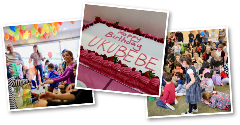 Ukubebe 5th Birthday Photo